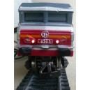 Kit de iluminación locomotora CC6505 ANALOG Jouef HO
