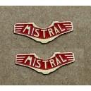 Lot de 2 plaques MISTRAL pour locomotive HO