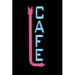 Miller Enseigne Lumineuse clignotante CAFE droite HO/O 13812-R