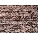 FALLER : Plaque mur PIERRE NATURELLE gris ardoise 255x125mm 170618 HO