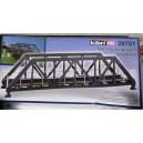 Kibri 39701 - H0 Pont a arc en acier voie simple