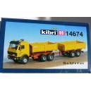 Kibri 14674 - H0 MB a benne basculante Kirchhoff