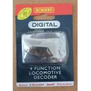 Decodeur DCC 4 fonctions Hornby jr8249 - HO