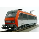LOCO ELECTRIQUE SNCF BB 26076, LOGO NOUILLE, EMT LENS, 3-rails alt