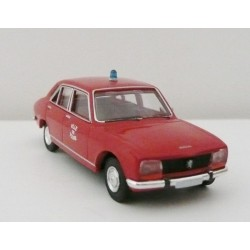 Renault R12 TL rouge bordeaux SAI 2229 - HO