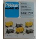 Remorques postale - PREISER - 17112 - HO