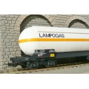 LSM 30175 WAGON citerne LAMPOGAZ LS models HO