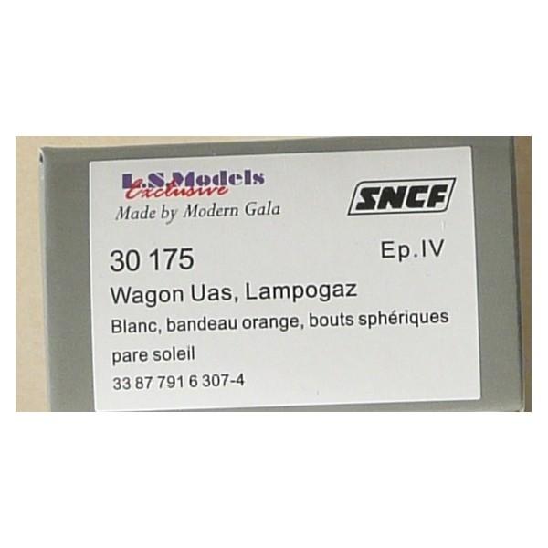 LSM Tank LAMPOGAZ 30175 WAGON LS Models HO