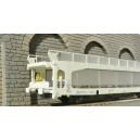 LSM 30194.1 Wagon porte auto STVA gris  LS models HO