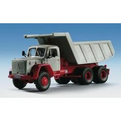 Kibri 14031 - H0 camion MAGIRUS avec tremier a Gravier