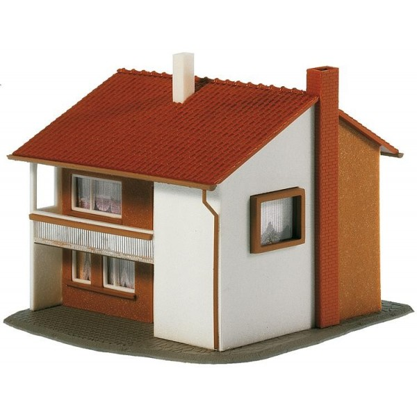 Faller maison simple 2 etages 131263 ho boutique du train - Decoration maison simple ...