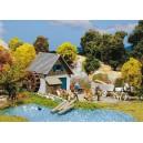 FALLER - maquette de petit moulin - 131242 - echelle HO