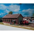 PIKO - locomotive shed - 61823 - HO