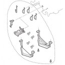 JOUEF hj2049/01 - lot de 4 tampons, 2 chasses pierres, detaillage pour BB67000 JOUEF - HO