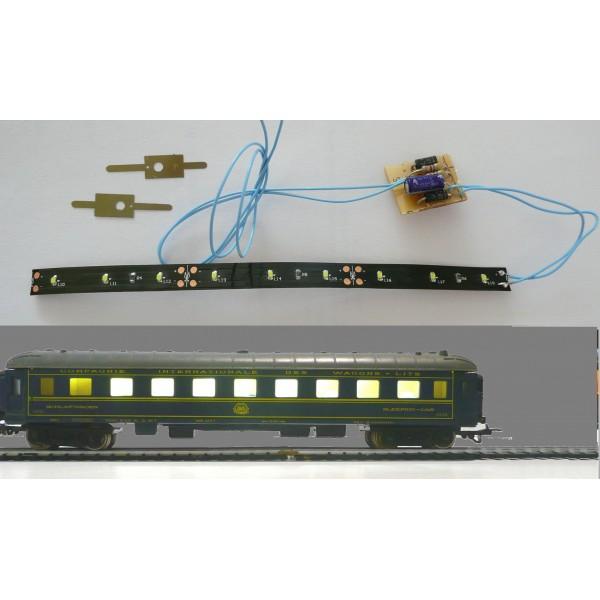 kit d 39 clairage pour voiture ciwl ancienne jouef boutique du train. Black Bedroom Furniture Sets. Home Design Ideas