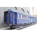 LS models LSM-49137 - Voiture voyageur CIWL SG bleu 1968 - HO