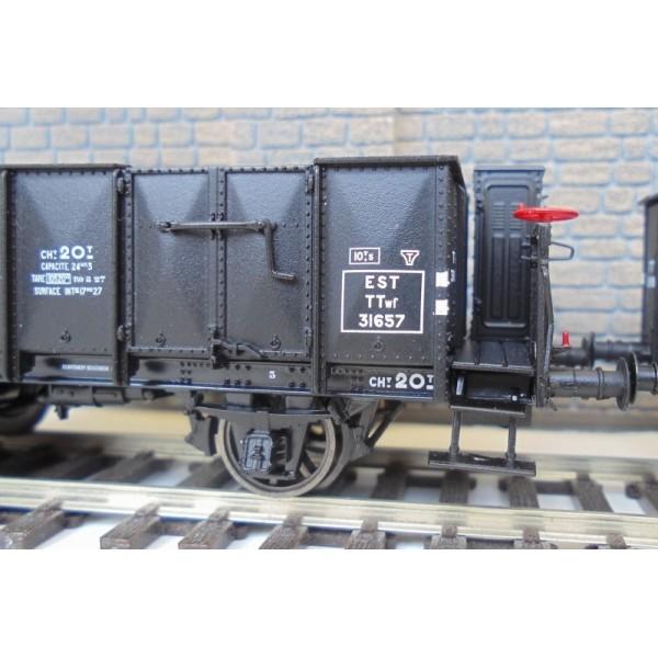 LSM-30271 Set De 3 Carros Cubiertos Y Dumper