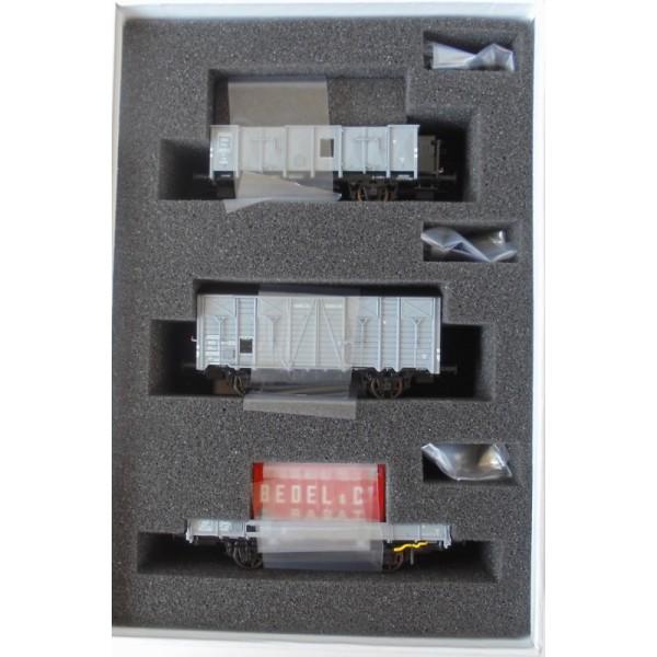 LS Models LSM-30275 Set Of 3 Carros Cubiertos OCEM And