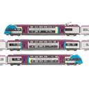 JOUEF - Autorail electrique Z24500 3 caisses Pays de Loire - HJ2120 - HO