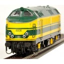 ROCO loco diesel serie proto 60 jaune SNCB 62891