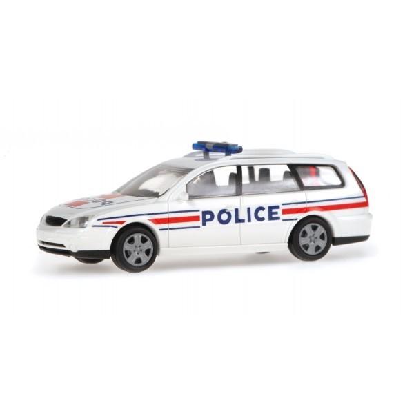 rietze 51134 vehicule miniature ford mondeo break police ho boutique du train. Black Bedroom Furniture Sets. Home Design Ideas