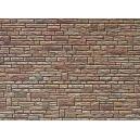 FALLER 170604 - Placas de piedra verde marrón piedra arenisca amarilla HO