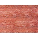 FALLER - Plaque mur gres rouge 255x125mm 170613 HO