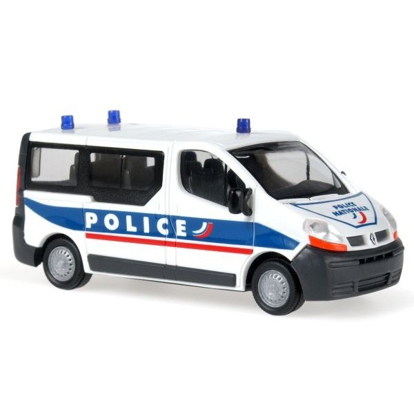 rietze 51379 vehicule miniature renault trafic police ho boutique du train. Black Bedroom Furniture Sets. Home Design Ideas