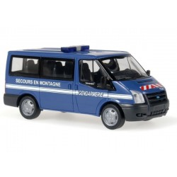rietze 52522 vehicule miniature ford transit gendarmerie ho 1 87 boutique du train. Black Bedroom Furniture Sets. Home Design Ideas
