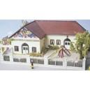 MKD 603- Le village - Maquette d' Ecole Maternelle - HO 1/87