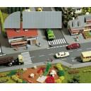 Busch 6029 - Set de plaques de trottoir - HO 1/87