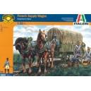 ITALERI 6886- Guerres Napoléoniennes - Chariot ravitaillement Français - 1/32