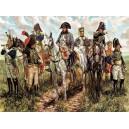 ITALERI 6872- Guerres Napoléoniennes - Etat Major Français avec Napoleon - 1/32
