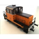 EPM 121709 locotracteur Y6499 Orange ARZENS Euro passion models HO