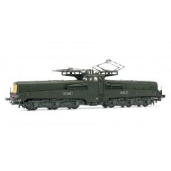 JOUEF HJ2250 - Locomotive CC14000 Verte face jaune - HO