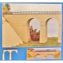 SAI maquette 311 - Extension de Viaduc ferroviaire ou petit pont routier - HO 1/87