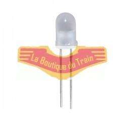 LED bicolore jaune/rouge 3mm pour eclairage de train miniature JOUEF BB9200 BB16001 BB25101 - HO