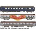 LS models - LSM 41107 - set de 3 Voitures mistral 56 TEE - echelle HO
