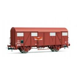 JOUEF HJ6122 - Wagon couvert G4 a frises ep III SNCF - HO