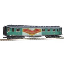 FLEISCHMANN 515102 - Voiture voyageur mixte 1/2 classe a 6 essieux SNCB-NMBS - HO