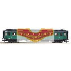 FLEISCHMANN 569102 - Voiture voyageur mixte 1/2 classe SNCB-NMBS - HO