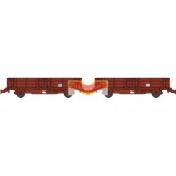 REE Modeles - set de deux wagonnets de draisine tombereau ep III - HO