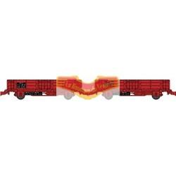 REE Modeles wb490 - set de deux wagonnets de draisine tombereau ep IV - HO