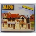 Le Village: Poste et  Caisse d'epargne - MK620 - HO
