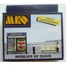 MKD 522- Quay furniture - MK522 - HO