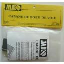 Cabane de bord de voie - MKD MK672 - HO