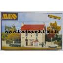 MKD 604 - Le village - Mairie - HO