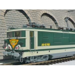 Electric locomotive BB 16500 Dancers SNCF - HO
