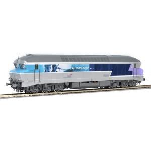 Loco diesel CC 72000 SNCF HO