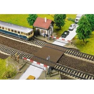 Models of crossings - HO scale